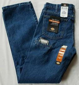 Dickies® Men's Regular Straight Fit Denim 6-Pocket Jean