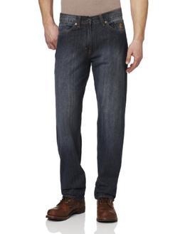 U.S. Polo Assn. Men's Relaxed 5 Pocket Jean, Blue, 34x30