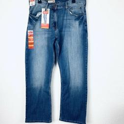 Wrangler Relaxed Fit Bootcut Men Jeans. Size 36x30. NWT