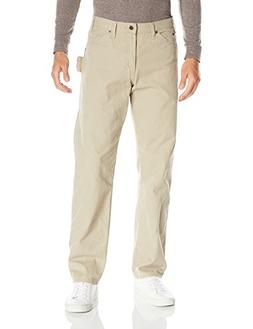 Dickies Men's Relaxed Fit Carpenter Jean, Rinsed Sanded Duck