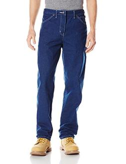 Dickies Men's Relaxed Fit Carpenter Jean, Indigo Garment Was