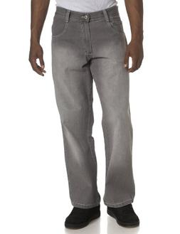 Southpole Men's Relaxed Fit Core Jean,Grey Sand,32x32