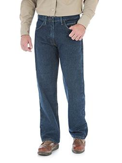 Wrangler Men's Extreme Relaxed Fit FR Jean, Prewash, 38x30