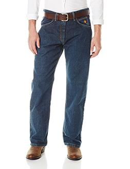 Wrangler Men's Extreme Relaxed Fit FR Jean, Prewash, 42x32