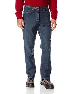 Carhartt Men's Relaxed Fit Holter Jean, Bed Rock, 32W x 34L