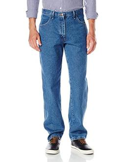 Maverick Men's Relaxed Fit Jean, Vintage Stonewash, 42x32