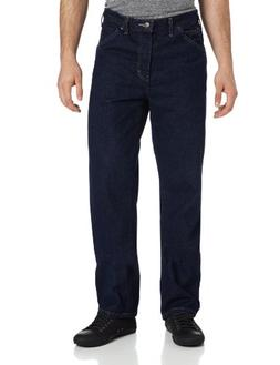 Dickies Men's Relaxed Fit Jean, Indigo Blue/Blue, 38x34