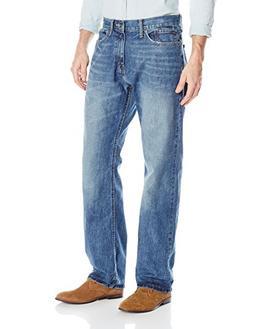 Nautica Men's Relaxed Fit Jean, Medium Blue Frost, 36Wx32L