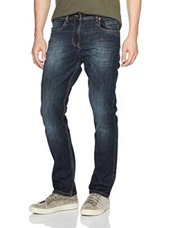 Comfort Denim Outfitters Men's Relaxed Fit Jeans 40Wx32L Blu
