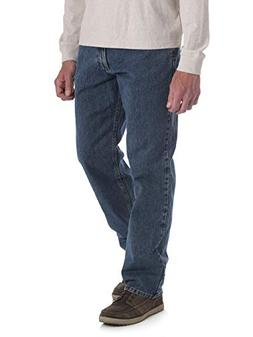 Wrangler Men's Relaxed Fit Jeans with 4-Way Flex