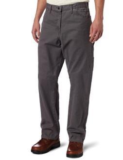 Dickies Men's Relaxed Fit Sanded Duck Carpenter Jean, Slate