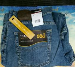 LEE RELAXED FIT STRAIGHT LEG COMFORT STRETCH JEANS - Men's 3
