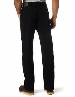 Lee Men's Relaxed Fit Straight Leg Jean, Double Black, 36W x