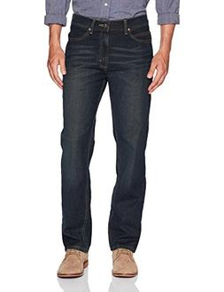 LEE Men's Relaxed Fit Straight Leg Jean, Inferno, 33W x 29L