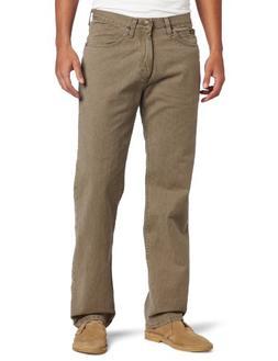 Lee Men's Relaxed Fit Straight Leg Jean, Tarmac, 38W x 30L