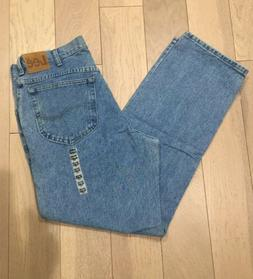 Lee Relaxed Fit Straight Leg Men's Jeans Size 34 x 30 NEW Li