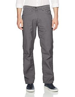 LEE Men's Relaxed Fit Utility, Graphite, 34W x 30L