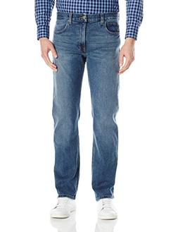 Dickies Men's Relaxed Straight 5-Pocket Jean, Medium Wash St