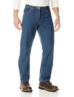 Dickies Men's Relaxed Straight Fit Carpenter Jean, Tinted He