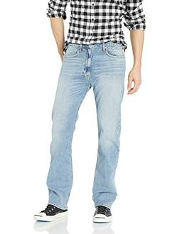 Calvin Klein Men's Relaxed Straight Fit Jeans, Cabana Blue,