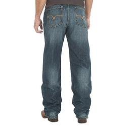 Wrangler Men's 20x No. 33 Relaxed Straight-Leg Jean, Wells,