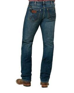 Wrangler Retro Men's Krum Stretch Slim Straight Jeans  - 88M