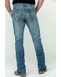 Wrangler Retro Men's Premium Saddler Slim Bootcut Jeans  - 7