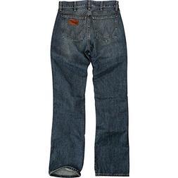 Wrangler Men's Retro Slim Fit Boot Cut Jean, River Wash, 3