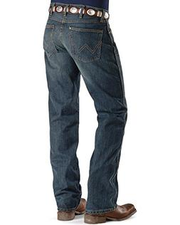 bf5ccfae Wrangler Men's Retro Slim Fit Boot Cut Jean, River Wash, 32
