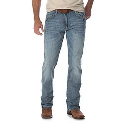 Wrangler Men's Retro Slim Fit Boot Cut Jeans, Greeley, 32X32