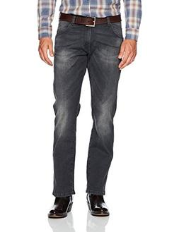Wrangler Men's Retro Slim-Fit Bootcut Jean, Grey Denim, 38x3