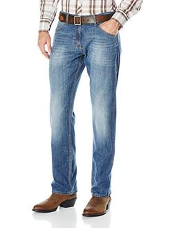 Wrangler Mens Retro Premium Slim Fit Straight Leg Jean Jeans