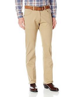 Wrangler Men's Retro Slim-Fit Straight-Leg Jean, Fawn, 38x34
