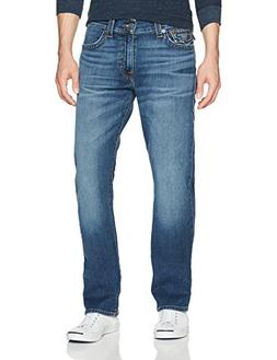 True Religion Men's Ricky Straight Leg Jeans, Indigo Travele