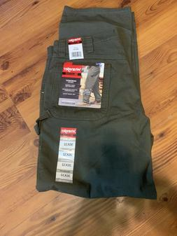 WRANGLER RIGGS Relaxed Fit Olive Rip Stop Carpenter Work Jea