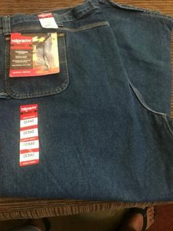 Wrangler Riggs workwear jeans 54x30 mens blue denim relaxed