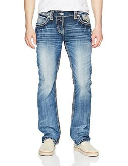 Rock Revival Men's Roberto, Medium Blue, 36
