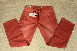 Express Rocco Watermelon Red Jeans Slim Fit Men's 32 X 32 Ne