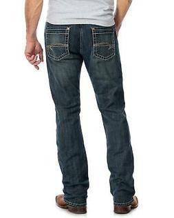 Rock 47 By Wrangler Men's Back Up Stretch Slim Straight Jean