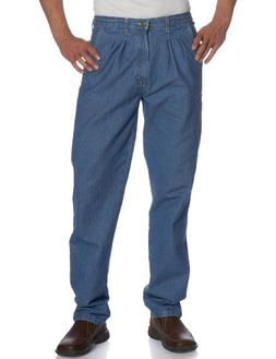 Wrangler Men's Rugged Wear Angler Relaxed-Fit Jean , Indigo,