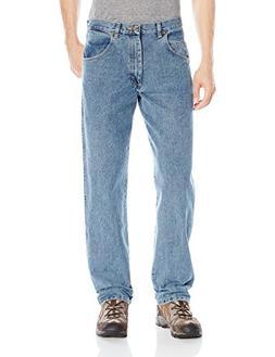 Wrangler Men's Rugged Wear Jean, Grey Indigo, 50x30