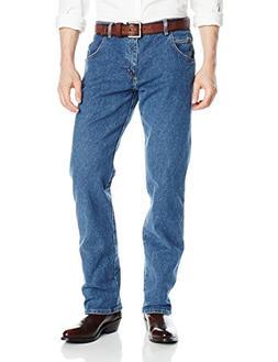 Wrangler Men's Rugged Wear Regular Straight Fit Jean, Vintag