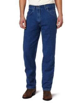 Wrangler Men's Big Rugged Wear Stretch   Jean,Stonewashed,50