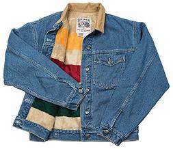 Schaefer Ranchwear - 583 Legend Denim Jacket W/Fleece Blanke