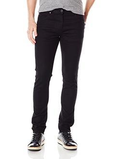 Calvin Klein Jeans Men's Sculpted Slim Fit Denim, Black, 38W