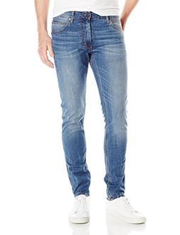 Calvin Klein Jeans Men's Sculpted Slim Fit Denim, Voyager In