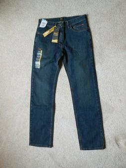 Lee Men's Premium Select Classic Fit Straight Leg Jean, Vert