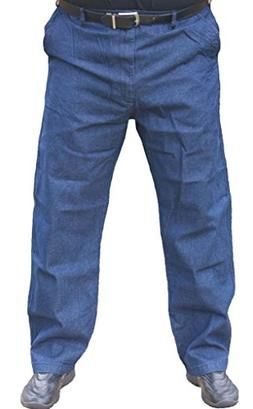 Falcon Bay The Senior Shop Men's Full Elastic Waist Denim Je