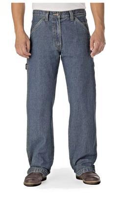 Signature Levi's Carpenter Jeans BIG & TALL 48-54 Lt Blue Re