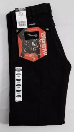 Wrangler Silver Edition Black Relaxed Fit Bootcut Jeans.  Me